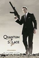 007 QUANTUM OF SOLACE  (STYLE B)    (VERY MINOR EDGE DAMAGE)