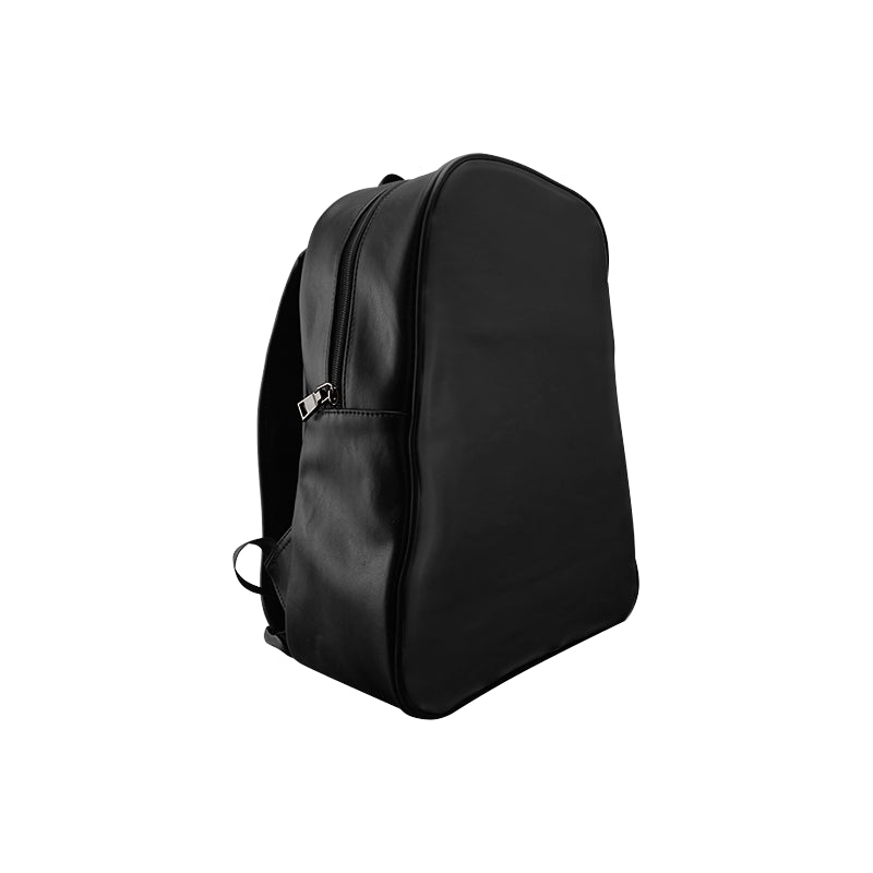 Black Girls Ride Leather Backpack
