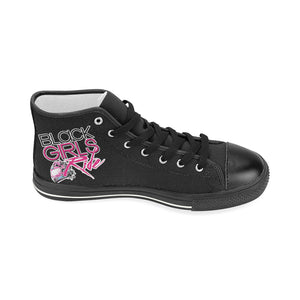 BGR Hi Top Sneakers - Black