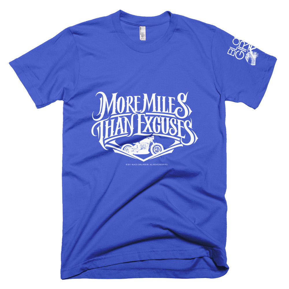More Miles Than Excuses Short-Sleeve T-Shirt