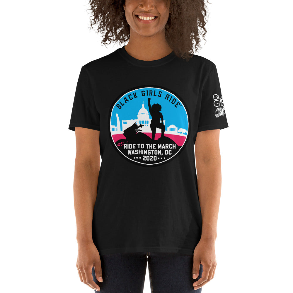 Black Girls Ride to the March Color Tee