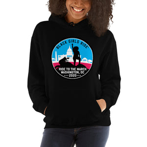 Black Girls Ride to the March Color Hoodie