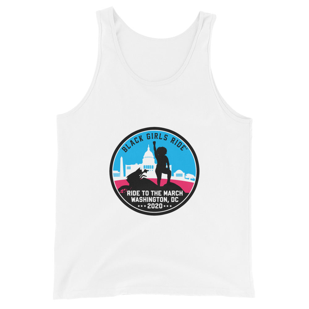 Ride to the March Unisex Tank Top