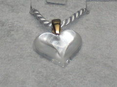 Lalique Small Heart Pendant
