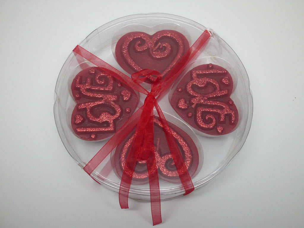 Red Heart Tealights