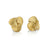 Autumn Leaves Earrings in 18K yellow gold