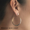 Splash Hoop Earrings in Gold & Silver