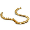 Shadow necklace in 18K yellow gold