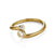 Star Cluster Wedding Band in Gold with Diamonds