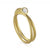 Wrap ring in 18K gold