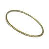 Splash Bangle in 18K Gold with Diamonds