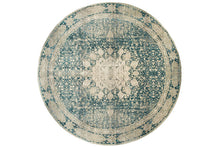 Load image into Gallery viewer, Kashan Kas 554445 navy-gray