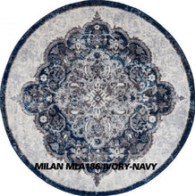 Load image into Gallery viewer, MILAN MLA186 IVORY-NAVY