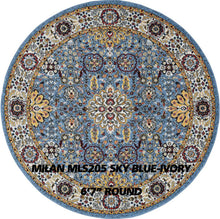 Load image into Gallery viewer, MILAN MLS205 SKY BLUE-IVORY