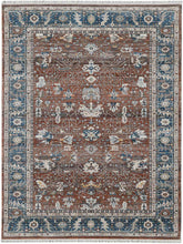 Load image into Gallery viewer, Mahallat MAT 5503 RUST-NAVY
