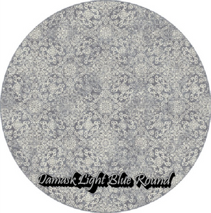 Damask Light Blue