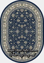 Load image into Gallery viewer, Isfahan Navy/Ivory