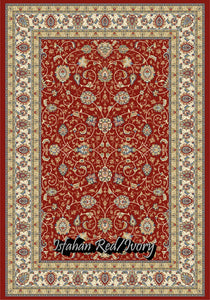 Isfahan Red/Ivory