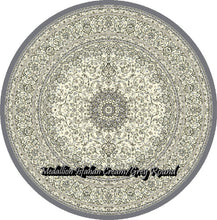 Load image into Gallery viewer, Medallion Isfahan Cream/Grey