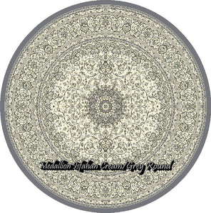 Medallion Isfahan Cream/Grey