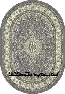 Medallion Isfahan Grey/Cream