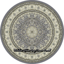 Load image into Gallery viewer, Medallion Isfahan Grey/Cream
