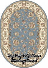 Load image into Gallery viewer, Tabriz blue/Ivory