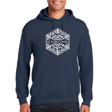 Load image into Gallery viewer, Navy fleece hoodie