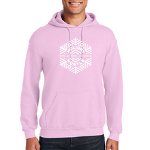 Load image into Gallery viewer, Pink fleece hoodie