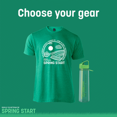 Choose your gear at sign up
