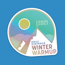 Load image into Gallery viewer, Holographic stickers (pack of 3): Winter Warmup