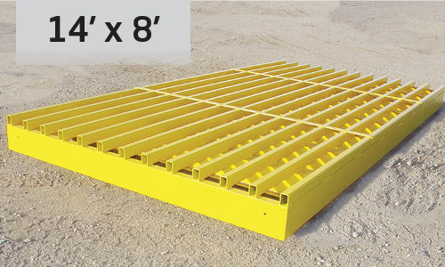 Cattle Guard - BLM HS20-44 - 14'        2387  lbs