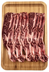 Sliced Short Ribs (Bone-in, USDA Select)