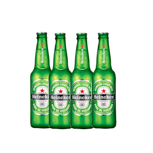 Heneiken Lager Beer 640Ml ( 4 Bots )