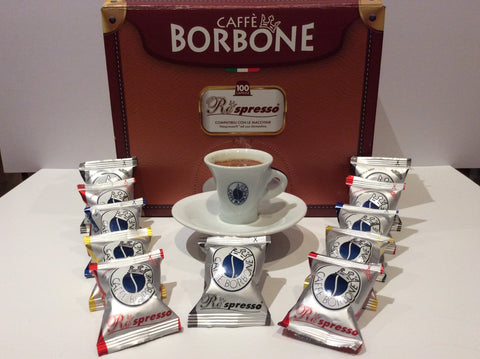 Borbone capsules suitable for nespresso machine