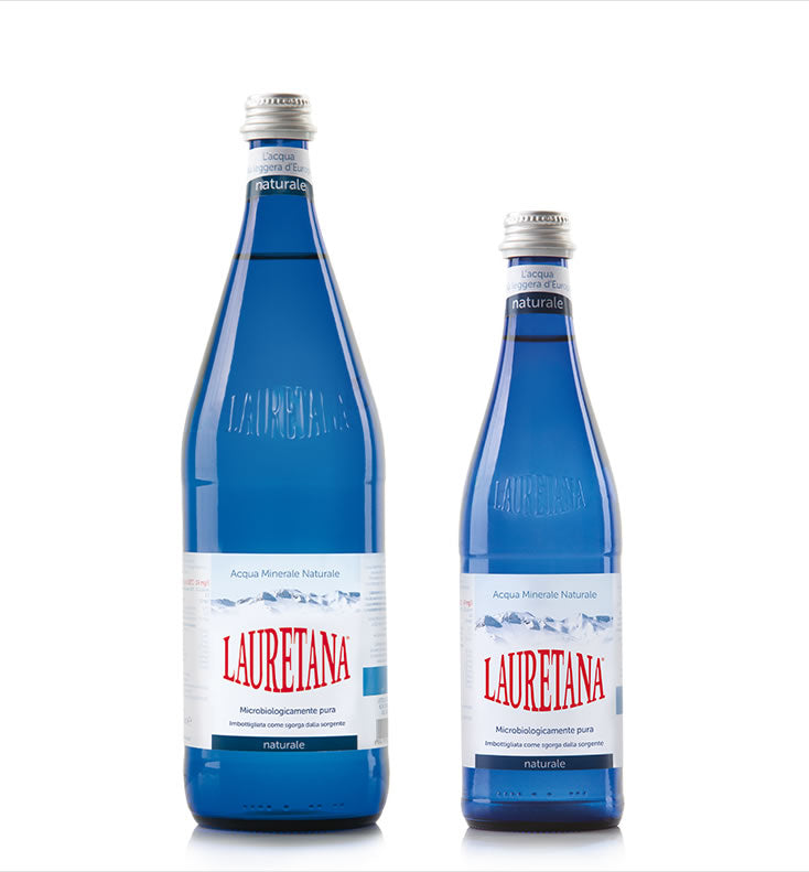 LAURETANA ACQUA MINERALE Pininfarina Design/select the bottle colour