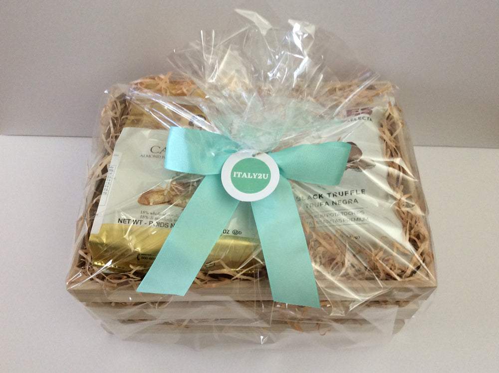 Gourmet Basket with Crafted  Grissini
