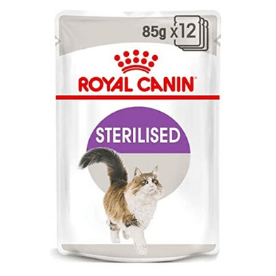 Royal Canin - Feline Health Nutrition Sterilised Gravy (WET FOOD - Pouches)