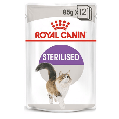 Royal Canin - Feline Health Nutrition Sterilised Jelly (WET FOOD - Pouches)