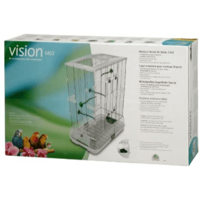 HARI - Vision Medium Bird Cage - Double Height