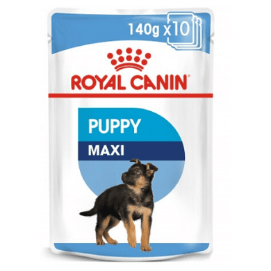 Royal Canin - Size Health Nutrition Maxi Puppy (WET FOOD - Pouches)