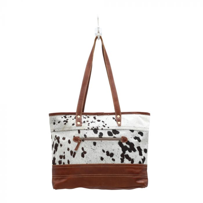 MYRA BAG • Combined Leather & Hairon Bag