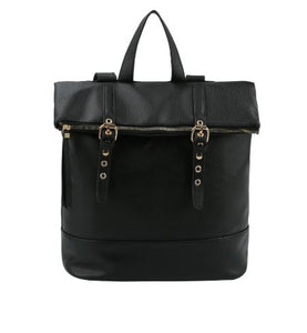 Fashion Buckle Flap Backpack