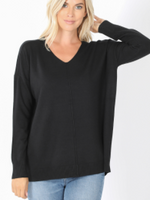 Load image into Gallery viewer, Super Soft V-Neck Sweater