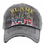 Load image into Gallery viewer, Blame It All On My Roots Cap