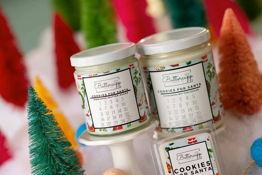 Buttercupp Candles • Cookies For Santa