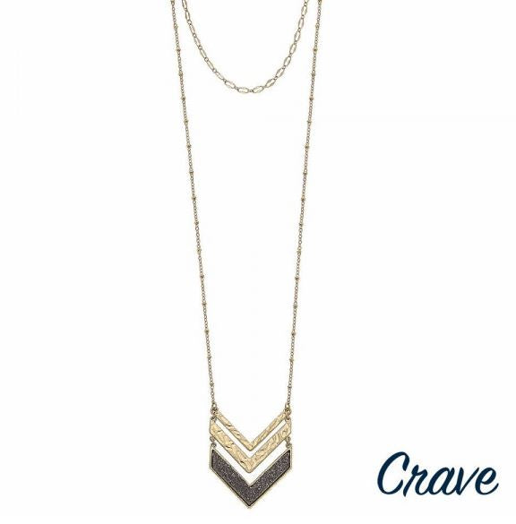 Crave Gold Necklace