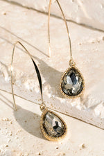 Load image into Gallery viewer, Tear Drop Hook Earrings