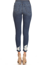 Load image into Gallery viewer, Super Distressed High-Rise Hammer Jeans