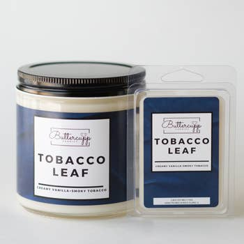 Buttercupp Candles • Tobacco Leaf